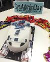 Nothing says Happy SysAdmin Day like an R2-D2 cake!